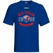 Bavlnené tričko MFK Lokomotíva Zvolen 0116 - royal modrá