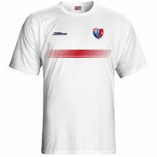 Bavlnené tričko MFK Lokomotíva Zvolen 0216 - biela