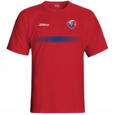 Bavlnené tričko MFK Lokomotíva Zvolen 0216 - červená