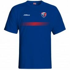 Bavlnené tričko MFK Lokomotíva Zvolen 0216 - royal modrá