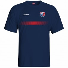 Bavlnené tričko MFK Lokomotíva Zvolen 0216 - modrá – tmavomodrá