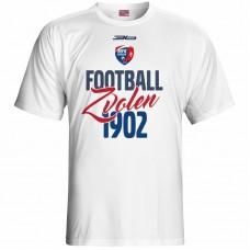Bavlnené tričko MFK Lokomotíva Zvolen 0416 - biela