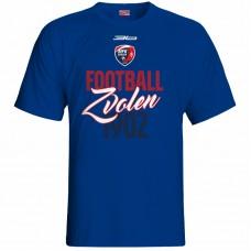 Bavlnené tričko MFK Lokomotíva Zvolen 0416 - royal modrá