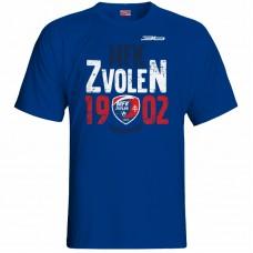 Bavlnené tričko MFK Lokomotíva Zvolen 0516 - royal modrá