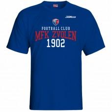 Bavlnené tričko MFK Lokomotíva Zvolen 0616 - royal modrá