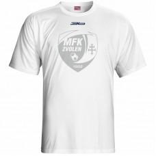 Bavlnené tričko MFK Lokomotíva Zvolen 0716 - biela