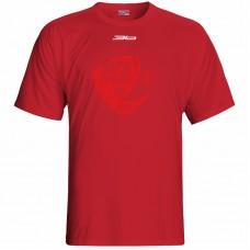 Bavlnené tričko MFK Lokomotíva Zvolen 0716 - červená