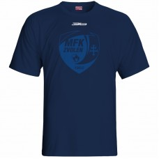 Bavlnené tričko MFK Lokomotíva Zvolen 0716 - modrá – tmavomodrá