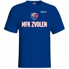 Bavlnené tričko MFK Lokomotíva Zvolen 0916 - royal modrá