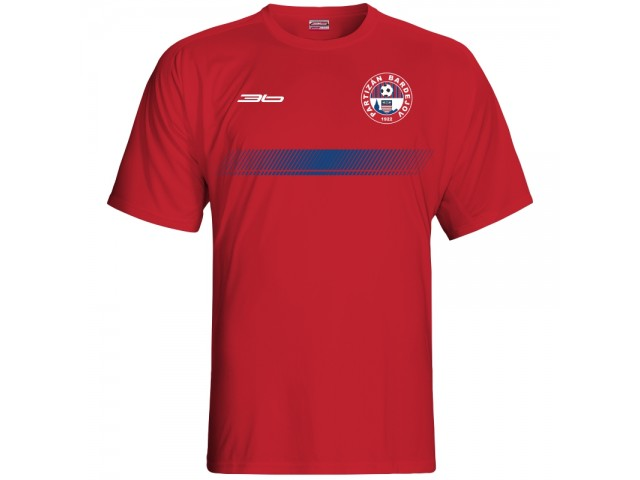 Bavlnené tričko FK Bardejov vz.1 - červená