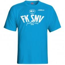 Bavlnené tričko FK Spišská Nová Ves vz.2 - royal modrá