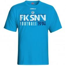 Bavlnené tričko FK Spišská Nová Ves vz.4 - royal modrá