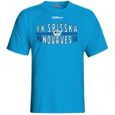 Bavlnené tričko FK Spišská Nová Ves vz.1 - royal modrá