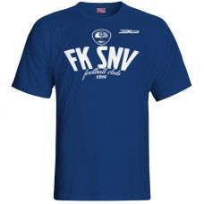 Bavlnené tričko FK Spišská Nová Ves vz.2 - modrá – tmavomodrá