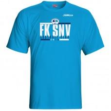 Bavlnené tričko FK Spišská Nová Ves vz.3 - royal modrá