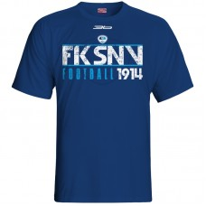 Bavlnené tričko FK Spišská Nová Ves vz.4 - modrá – tmavomodrá