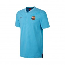 92c24dbda66d FC Barcelona Grand Slam Polo Blue Red