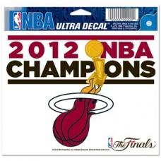 Miami Heat - 2012 Champions FF NBA Nálepka