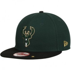 Milwaukee Bucks - Current Logo Star Trim Commemorative Champions NBA Čiapka