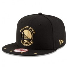 Golden State Warriors - Current Logo Star Trim Commemorative Champions NBA Čiapka
