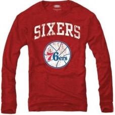Philadelphia 76ers - Tri-Blend NBA Tričko s dlhým rukávom