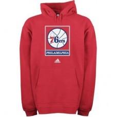 Philadelphia 76ers - Primary Logo NBA Mikina s kapucňou