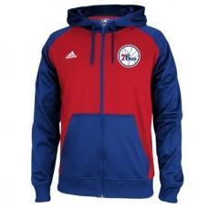 Philadelphia 76ers - Pre-Game Full Zip NBA Mikina s kapucňou