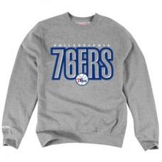 Philadelphia 76ers - Retro Blur NBA Mikina