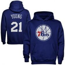 Philadelphia 76ers - Thaddeus Young NBA Mikina s kapucňou
