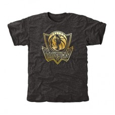 Dallas Mavericks - Gold Collection Tri-Blend NBA Tričko