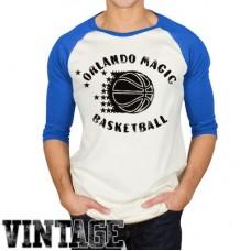 Orlando Magic - Rebound Vintage Raglan NBA Tričko s dlhým rukávom