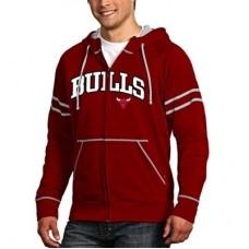 Chicago Bulls - Velocity Full Zip NBA Mikina s kapucňou