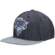 New York Knicks - Linen Snapback NBA Čiapka