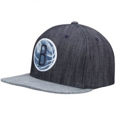 Brooklyn Nets - Linen Snapback NBA Čiapka