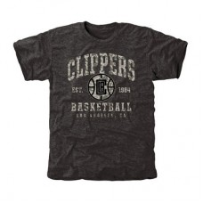 Los Angeles Clippers - Camo Stack Tri-Blend NBA Tričko