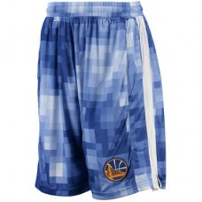 Golden State Warriors - Zipway Pixel Mesh NBA Kraťasy