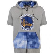 Golden State Warriors - Zipway Pixel NBA Mikina s krátkym rukávom