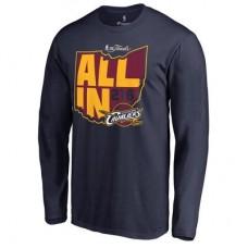 Cleveland Cavaliers - 2016 Finals Bound State NBA Tričko s dlhým rukávom