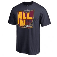 Cleveland Cavaliers - 2016 NBA Finals Bound All In NBA Tričko