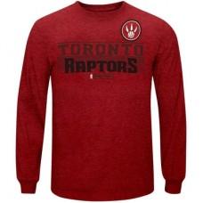 Toronto Raptors - Marled NBA Tričko s dlhým rukávom