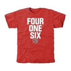 Toronto Raptors - Area Code Tri-Blend NBA Tričko