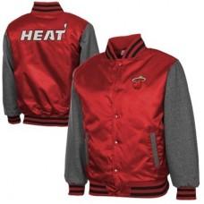 Miami Heat - Classic Hook Satin NBA Bunda