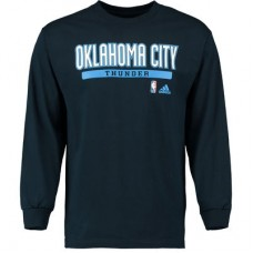 Oklahoma City Thunder - Cut and Paste NBA Tričko s dlhým rukávom