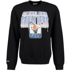 Cleveland Cavaliers - Block and Blur Crew Fleece NBA Mikina