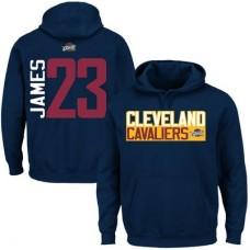 Cleveland Cavaliers - LeBron James Vertical NBA Mikina s kapucňou