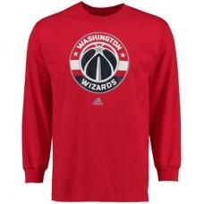Washington Wizards - Primary Logo NBA Tričko s dlhým rukávom