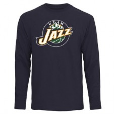 Utah Jazz - Primary Logo NBA Tričko s dlhým rukávom