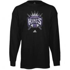 Sacramento Kings - Primary Logo NBA Tričko s dlhým rukávom