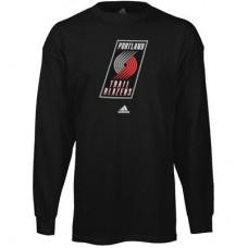 Portland Trail Blazers - Primary Logo NBA Tričko s dlhým rukávom