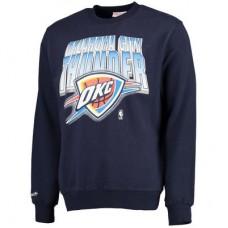 Oklahoma City Thunder - Block and Blur NBA Mikina s kapucňou